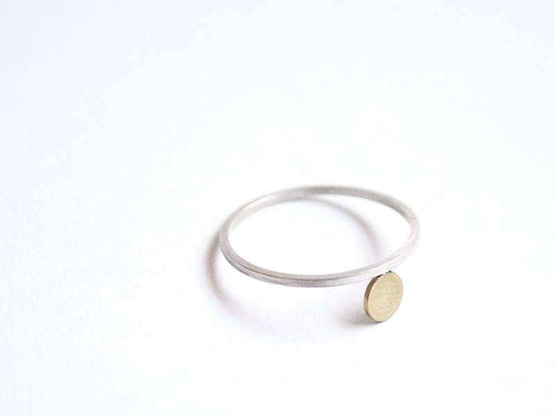 Silver-and-gold-ring-jewellery-course-london