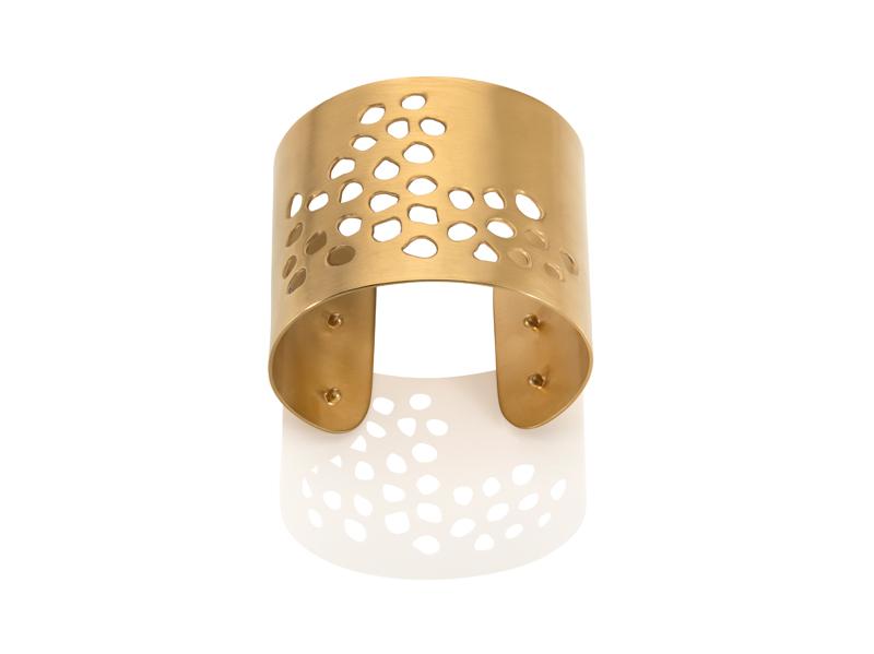 Sonya C absence cuff gold